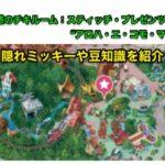 東京ディズニーランド魅惑のチキルームの隠れミッキーや豆知識を紹介